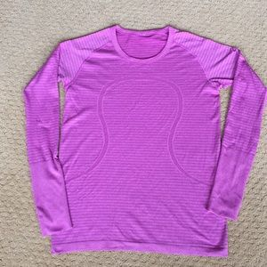 New Lululemon Long Sleeve Running Top Swiftly 12